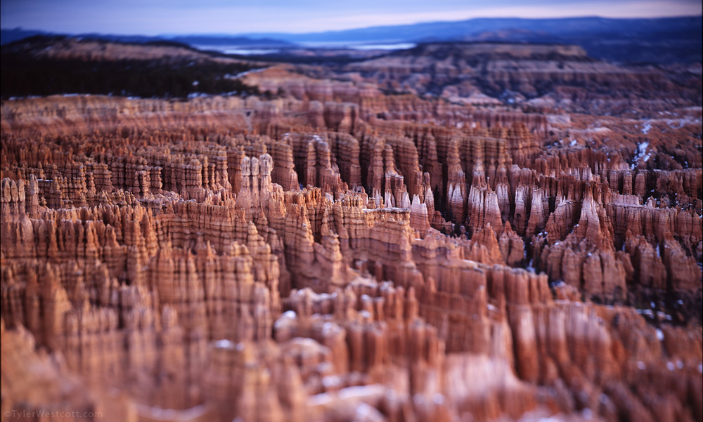Inspiration Point Focus, Bryce Canyon NP, Utah