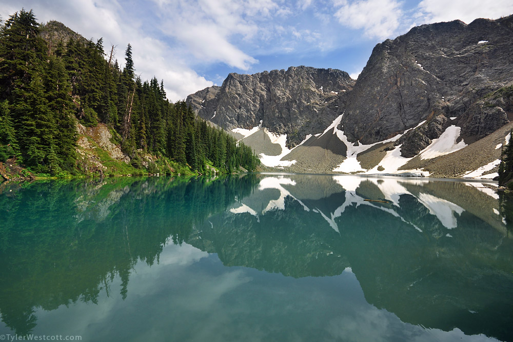 Blue Lake, North Cascades National Park