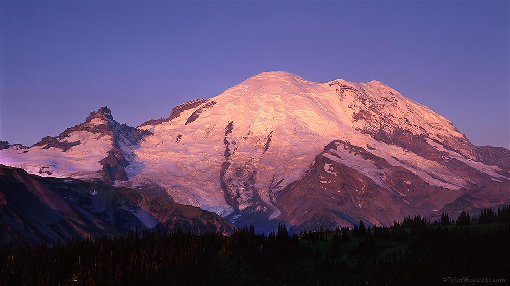 Sunrise Sunrise, Mount Rainier National Park - Tyler Westcott ...