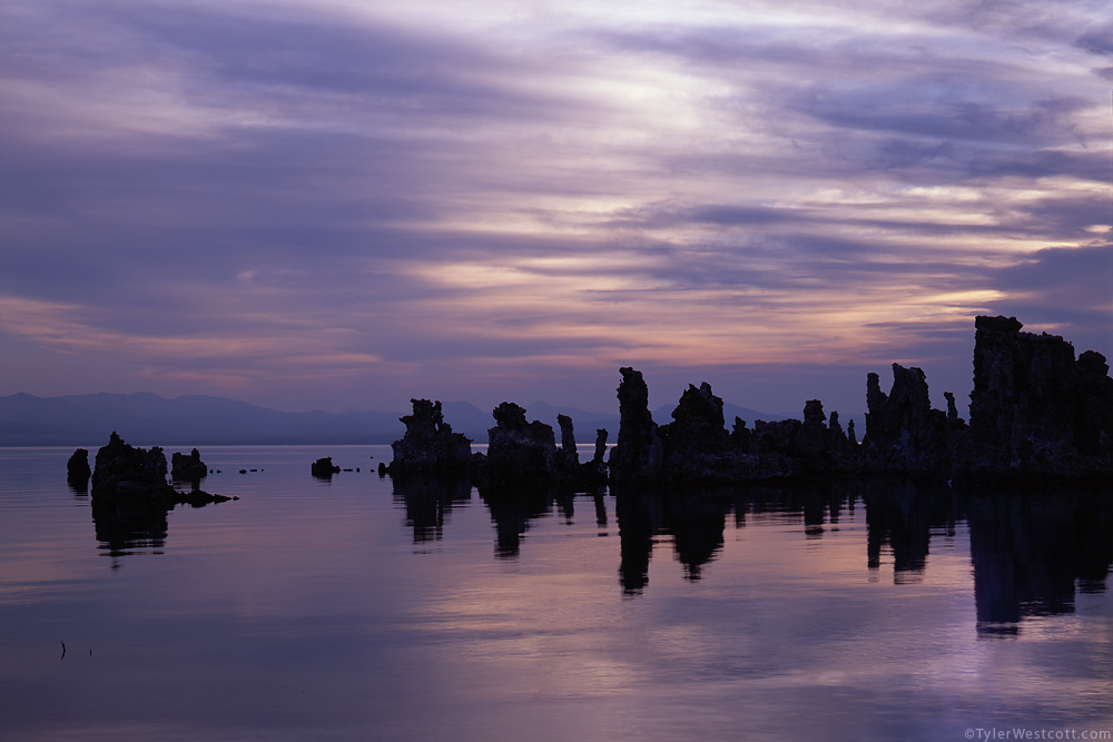Before Dawn at Mono lake, California