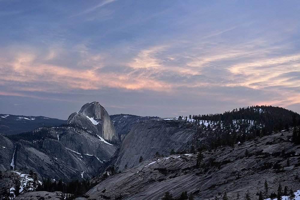 Olmsted Point, Dusk, Yosemite National Park