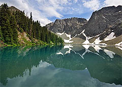 Blue Lake, North Cascades National Park, Washington