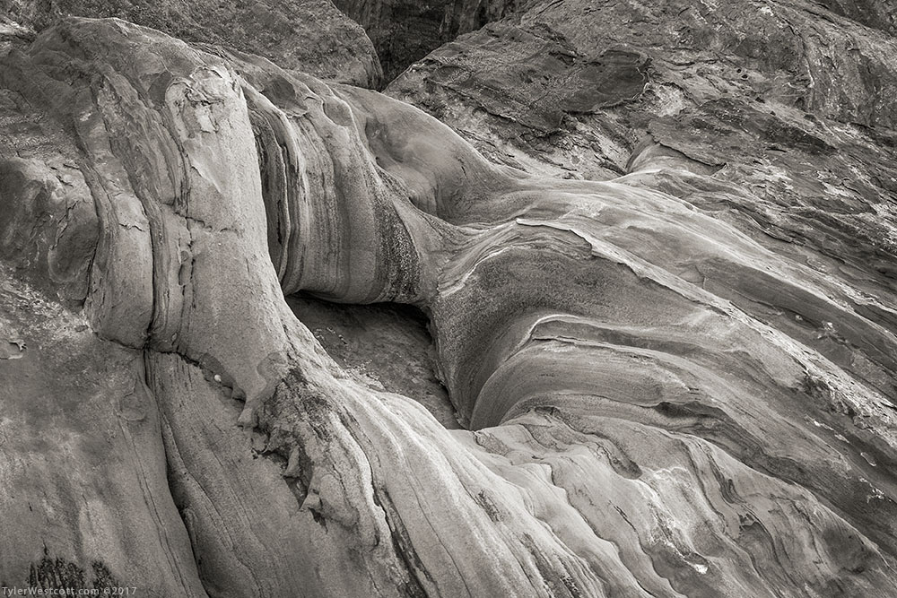 Refrigerator Canyon Erosion, Zion National Park